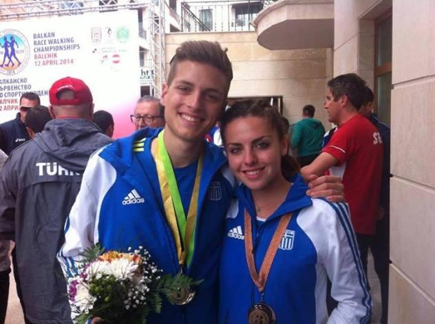 Ανδριανός Γιώργος τερμάτισε 1ος στα 10 χλμ με χρόνο 45,12. Στις γυναίκες η Παπαδοπούλου Χριστίνα τερμάτισε 3η στα 10 χλμ Βάδη