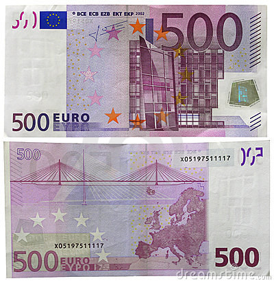 Η ΔΥΟ ΟΨΗΣ ΤΟΥ ΧΑΡΤΟΝΟΜΙΣΜΑ  ΤΩΝ 500 ΕΥΡΟ
